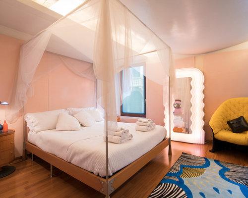 Pareti Rosa Camera Da Letto : Camera da letto con pareti rosa venezia foto e idee per arredare
