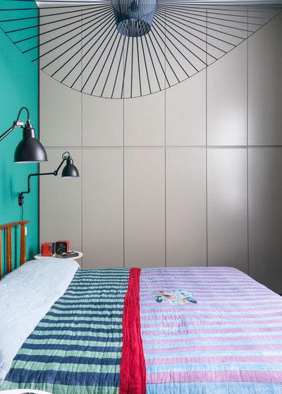ミッドセンチュリー 寝室 by Betti Sperandeo Architetto
