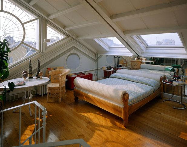 Le case di houzz meravigliosa architettura trompe l 39 oeil - Camera matrimoniale soppalco ...