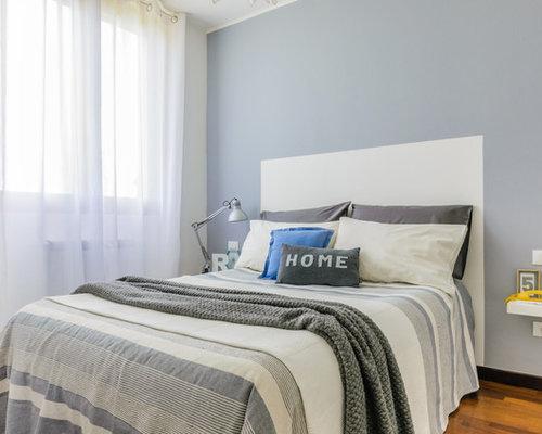 camera da letto scandinava con pareti grigie - foto e idee per ... - Pareti Grigie Camera Da Letto