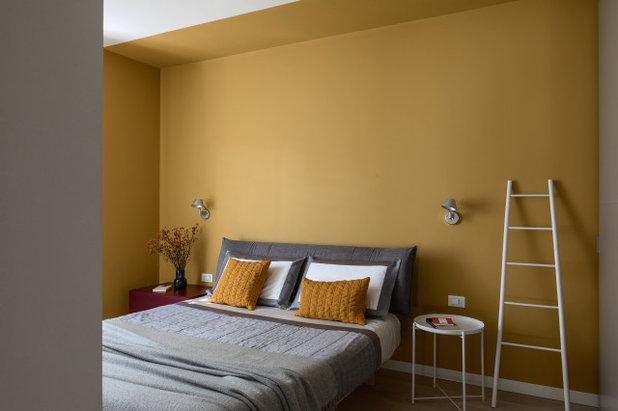 Современный Спальня by Details Studio