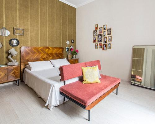 Camera Da Letto Moderna Marrone : Camera da letto moderna con pareti marroni foto e idee per arredare