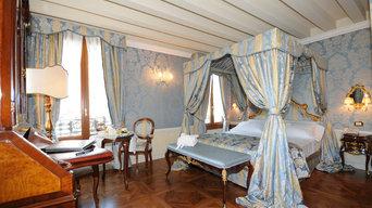 camera da letto, hotel