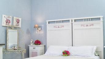 Camera da letto Shabby Chic