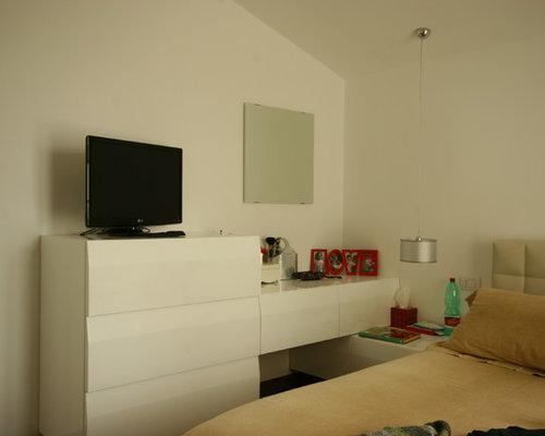Camera da letto su misura laccato lucido