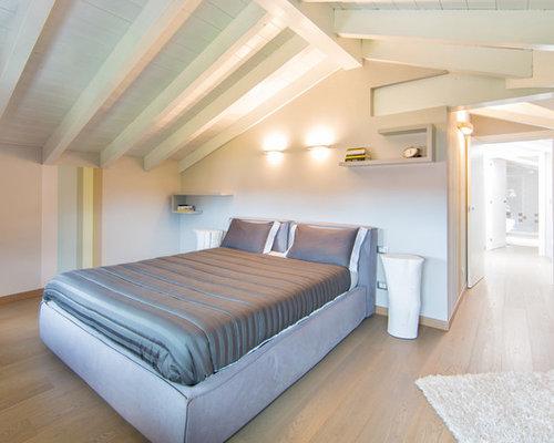 Camera da Letto con pareti beige - Foto, Idee, Arredamento