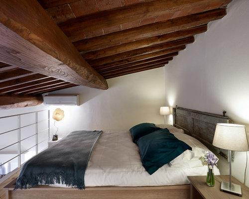 Camera da letto stile loft in campagna - Foto e Idee per Arredare