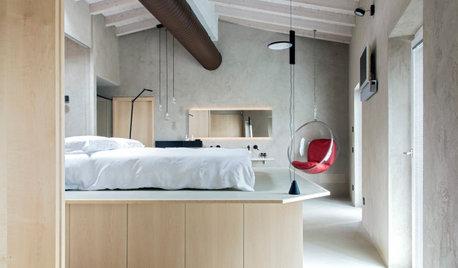 Sul Lago di Garda, Antica Dimora Diventa Industrial Chic