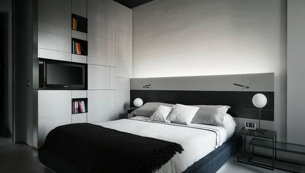 progettare camera. camera con bagno e cabina armadio with ... - Progetto Camera Da Letto