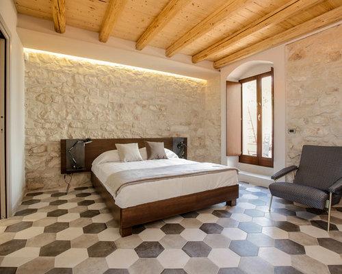 Foto e idee per camere da letto camera da letto in campagna for Camera padronale di campagna francese