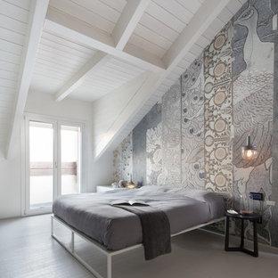 Carta da parati per camera da letto foto e idee houzz for Carta decorativa per pareti
