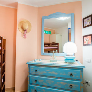 Chambre avec un mur rose Cagliari : Photos et idées déco de ...
