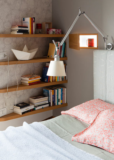 Modern Schlafzimmer by cecilia avogadro