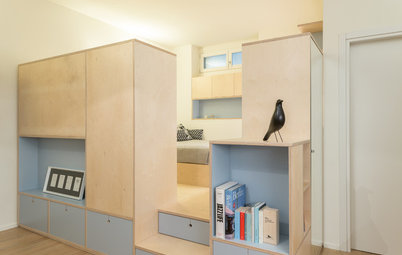 Small Space Solutions: 4 Studios Revamped With Clever Carpentry