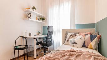 Concept e home staging stanze per studenti a Padova