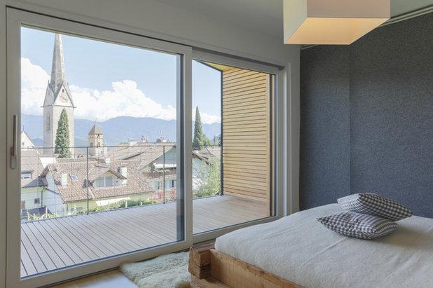 Rustico Camera da Letto by Manuel Benedikter Architetto