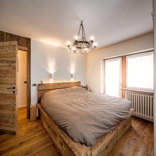 Camera da letto in montagna foto e idee per arredare - Camera da letto rustica moderna ...
