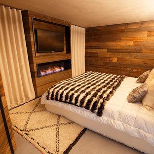 Foto di una camera da letto stile rurale