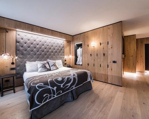 Foto e idee per camere da letto camera da letto in montagna for Camere da letto in legno prezzi