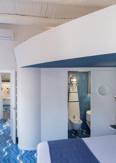 Stile Marinaro Camera da Letto by Studio Ricciardi Architetti