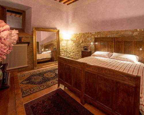 Parete Camera Da Letto Rosa : Camera da letto con pareti rosa firenze foto e idee per arredare