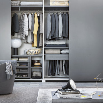 Modern wardrobe: many ideas for your bedroom