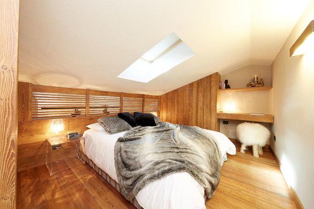Rustikal Schlafzimmer by Design Alpino