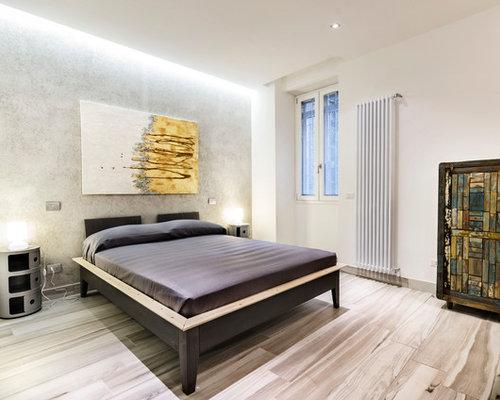 Camera da letto con nessun camino foto e idee per arredare - Camera da letto con camino ...