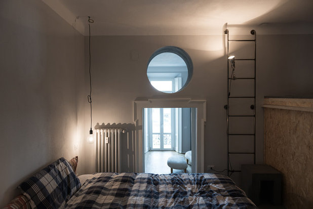 Contemporaneo Camera da Letto by Ghostarchitects