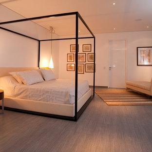 Foto di una camera da letto contemporanea