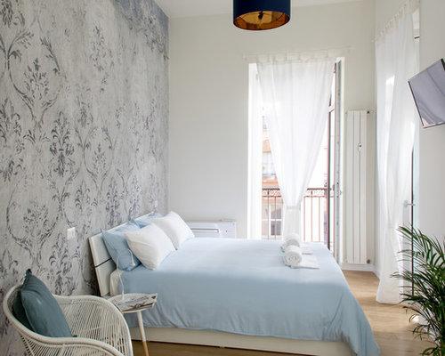 Pareti Beige Chiaro : Camera degli ospiti al mare con pareti beige foto e idee per