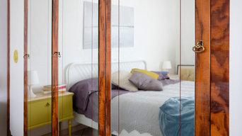 Restyling di una camera da letto in radica