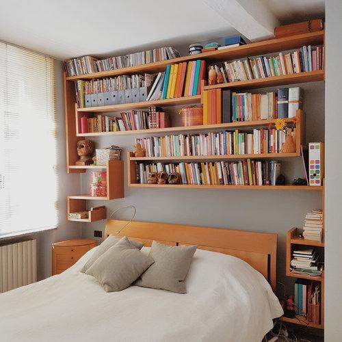 Camera da letto foto e idee per arredare - Libreria in camera da letto ...