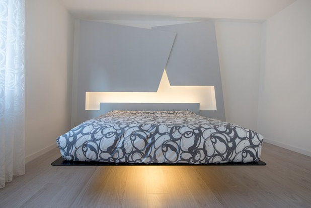 Contemporaneo Camera da Letto by Mangodesign