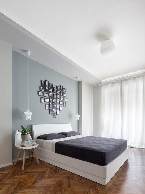 Decorare le pareti della camera da letto foto e idee houzz - Decorare pareti camera ...