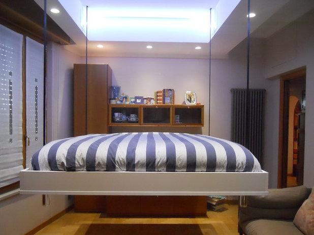 Moderno Camera da Letto by Bed Up Down