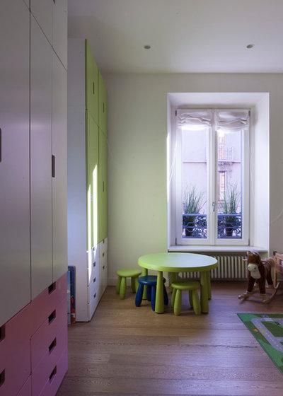 Le case di houzz due appartamenti in uno per una famiglia - Mobili ikea modificati ...