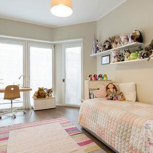 Immagine di una cameretta per bambini contemporanea