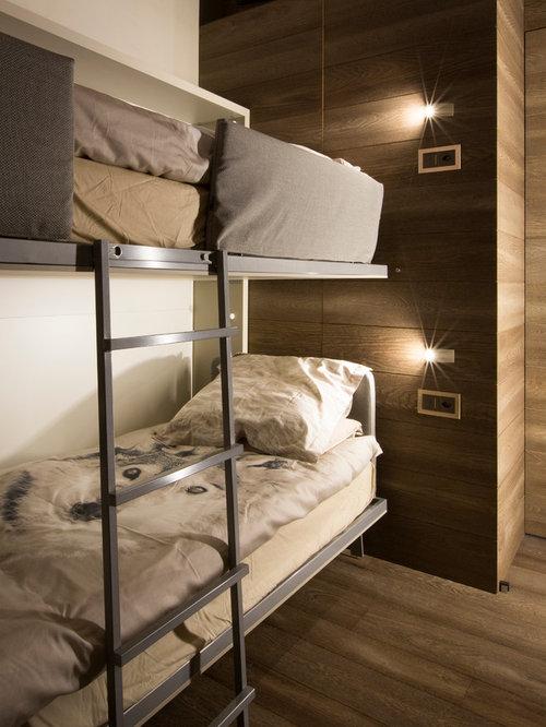 Foto e idee per camerette per bambini cameretta per bambini in montagna - Camerette in legno massello per ragazzi ...