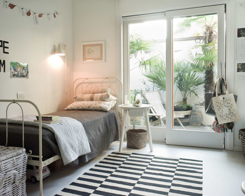 Kids Room Design Ideas, Renovations & Photos with Porcelain Flooring