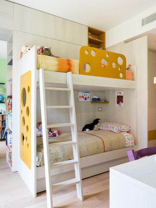excellent fabulous idee per una cameretta per bambini da a anni minimal con pareti bianche e ...