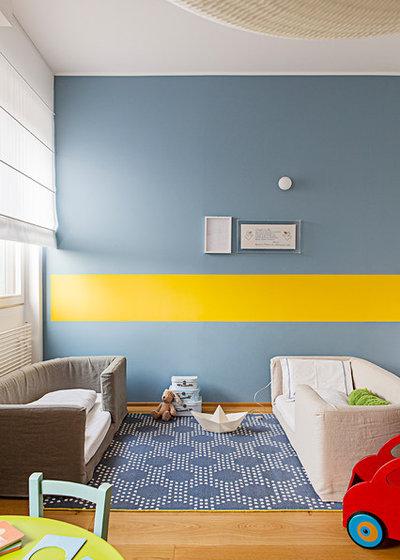 Modern Kinderzimmer by cecilia avogadro