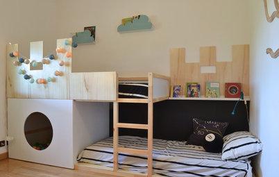 9 ideas para transformar muebles infantiles de Ikea