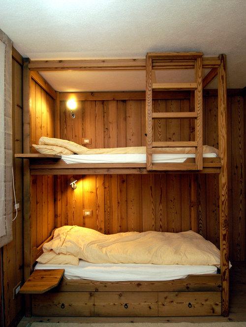 Foto e idee per camerette per bambini cameretta per - Camerette bambini legno naturale ...
