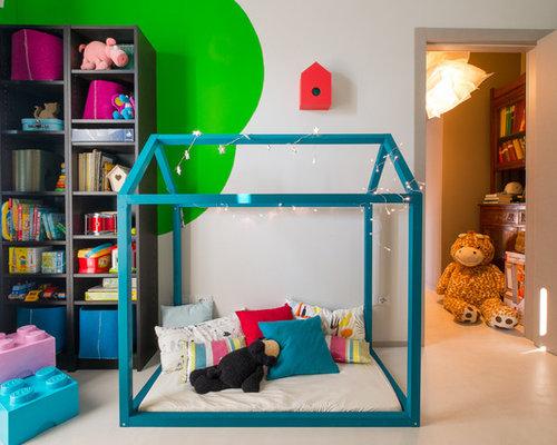 Foto e Idee per Camerette Neutre - cameretta neutra da 4 a 10 anni