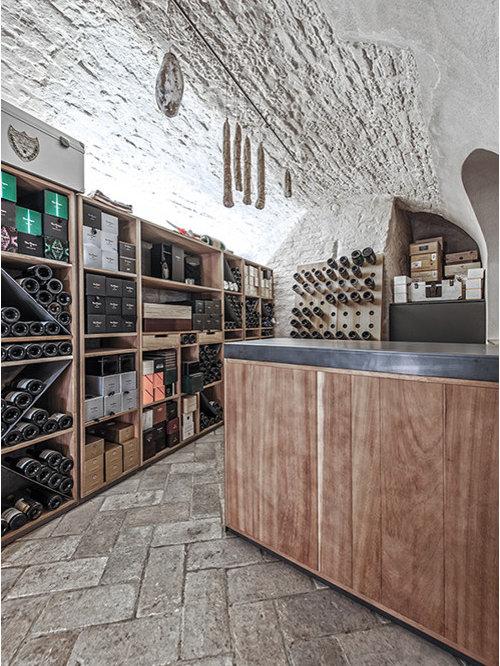 Weinkeller einrichten modern  Weinkeller modern Mailand einrichten - Bilder & Ideen