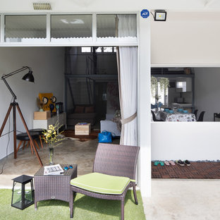 Photo of an industrial shed and granny flat in Singapore.