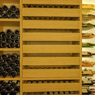Inspiration pour une cave à vin design.