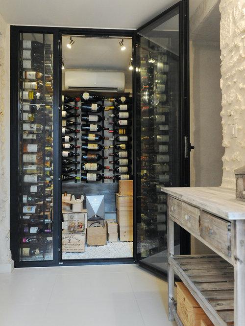 Photos et idées déco de caves à vin contemporaines à budget élevé