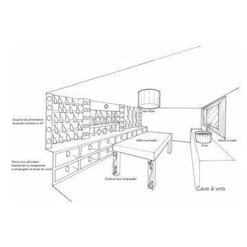 Bespoke wine cellars , cabinets and cigar humidors.